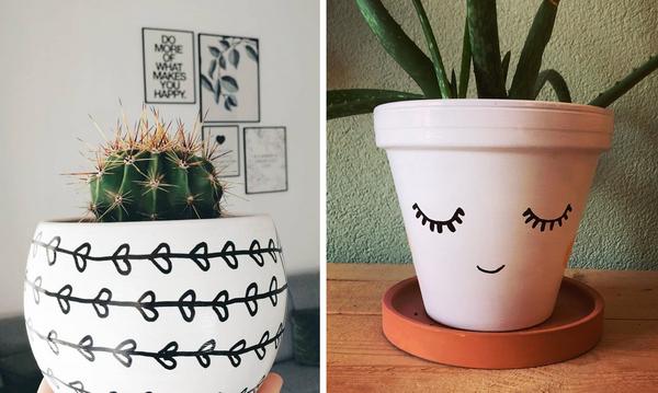 Ζωγραφίστε τις γλάστρες και μεταμορφώστε το μπαλκόνι σας - Δείτε ιδέες (pics)