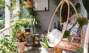 Δέκα ιδέες για να μετατρέψετε το μικρό μπαλκόνι σας σε κήπο (pics)