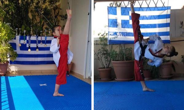 Δύο μικρές αθλήτριες κατέκτησαν την κορυφή και πήγαν την Ελλάδα ψηλά κάνοντας μας υπερήφανους