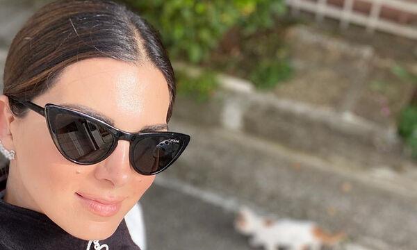 Σταματίνα Τσιμτσιλή: Οι φώτο από τον πανέμορφο κήπο του σπιτιού της και τα σχόλια στο Instagram