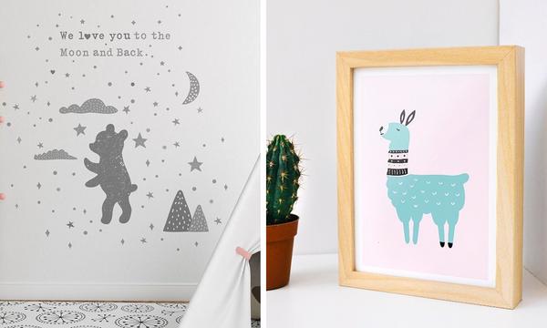 Οκτώ ιδέες για διακοσμήσετε τους τοίχους του παιδικού δωματίου (pics)