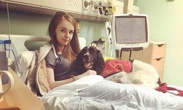 Αυτός ο σκύλος φροντίζει ένα 21χρονο κορίτσι με αναπηρία - Είναι οι καλύτεροι φίλοι (pics)