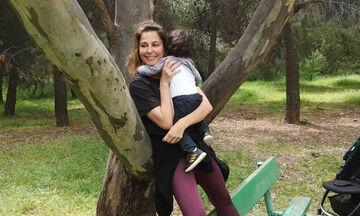 Κατερίνα Παπουτσάκη: Πήρε τους γιους της και δείτε που πήγαν για να δροσιστούν (pics)