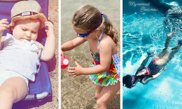 Παιδιά διάσημων Ελλήνων: Όλες οι εμφανίσεις τους με μαγιό για φέτος (pics)