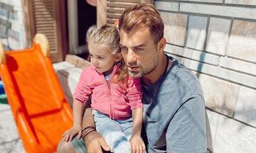 Στέλιος Χανταμπάκης: Η πριγκίπισσά του γιορτάζει σήμερα – Δείτε πώς της ευχήθηκε (pics)
