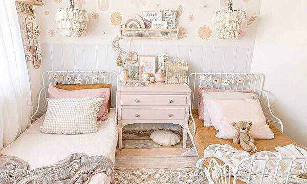 Ρομαντικά κοριτσίστικα δωμάτια: Όμορφες και απλές ιδέες διακόσμησης (pics)