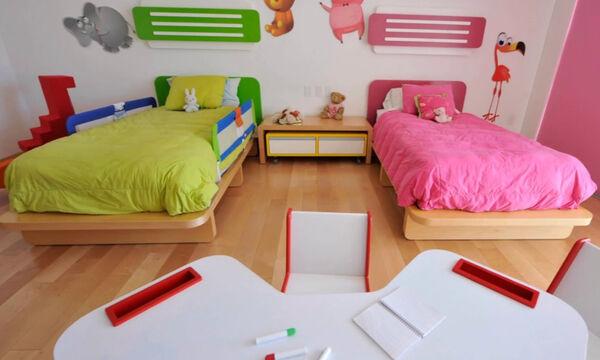 Αγόρι και κορίτσι μαζί στο παιδικό δωμάτιο; 25 ιδέες διακόσμησης σε μόλις ενάμιση λεπτό (vid)