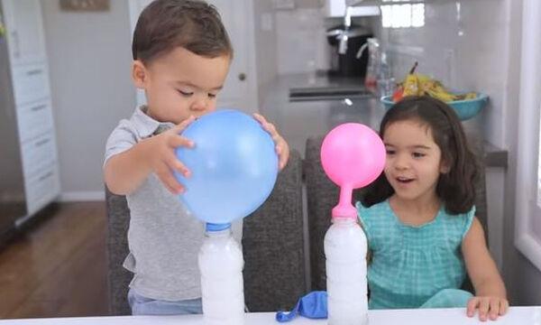 Τρία διασκεδαστικά παιχνίδια με μπαλόνια για παιδιά που πρέπει να δοκιμάσετε (vid)