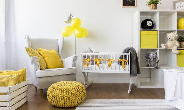 Κίτρινο στο παιδικό δωμάτιο; Είκοσι ιδέες που θα σας εμπνεύσουν (vid)