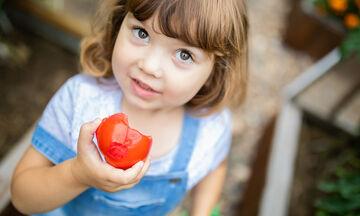 Τα οφέλη της ντομάτας στην υγεία του παιδιού (vid)