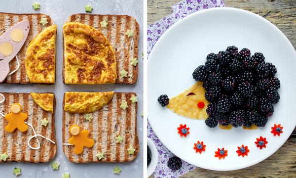 Έξι πρωτότυπες ιδέες για πρωινό που θα ξετρελάνουν μικρά και μεγάλα παιδιά (pics)