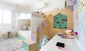 Κοινό κοριτσίστικο δωμάτιο: Μοναδικές ιδέες για να το διακοσμήσετε (pics)