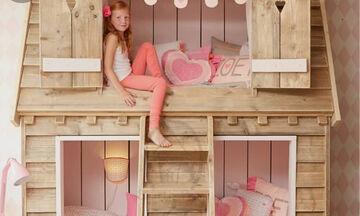 Κουκέτες για κορίτσια: Φανταστικές ιδέες για το παιδικό δωμάτιο (vid)