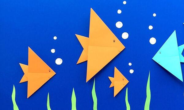 Κατασκευές για παιδιά: Φτιάχνουμε και ανακαλύπτουμε τον βυθό τη θάλασσας (vids)