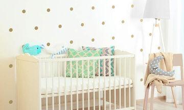 Πουά στο παιδικό δωμάτιο: Εναλλακτικές ιδέες διακόσμησης (pics)