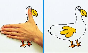 30 απίθανες ζωγραφιές σε λίγα μόλις λεπτά - Δείτε πώς θα τις κάνετε (vid)
