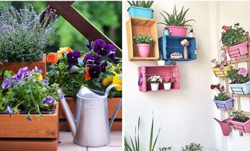 Βάλτε χρώμα στο μπαλκόνι σας – Έξι ιδέες διακόσμησης (pics)