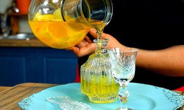 Η συνταγή για να φτιάξετε αυθεντικό ιταλικό limoncello (vid)