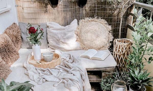 Πέντε ιδέες για boho διακόσμηση στο μπαλκόνι σας (pics)