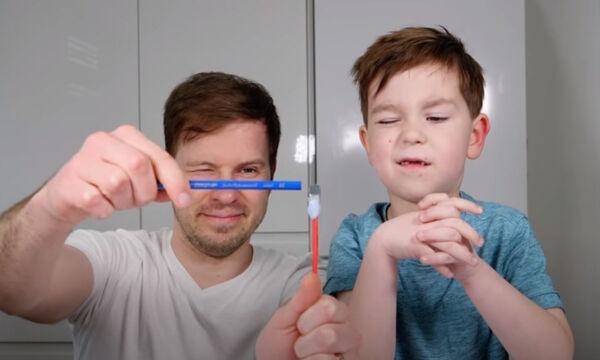 Πέντε διασκεδαστικά παιχνίδια αισθήσεων για νήπια (vid)