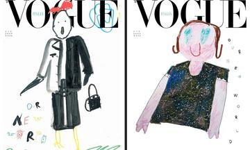 «Ο νέος μας κόσμος»: Ζωγραφιές παιδιών τα νέα εξώφυλλα της Ιταλικής Vogue