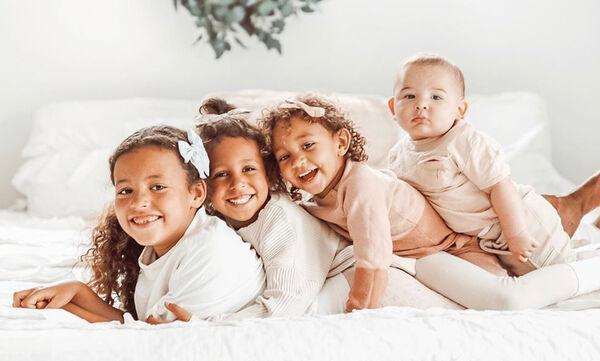 Μαμά φωτογραφίζει τα τέσσερα παιδιά της - Αυτές τις φώτο θα τις λατρέψετε