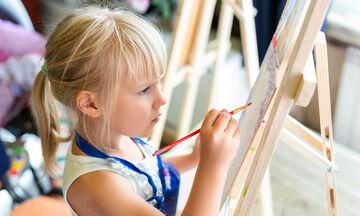 Τα παιδιά ζωγραφίζουν το καλοκαίρι με έναν ξεχωριστό τρόπο - Δείτε πώς