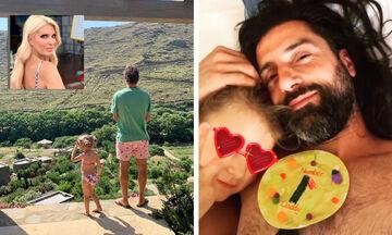 Δείτε πώς ευχήθηκαν οι Έλληνες διάσημοι για τη Γιορτή του Πατέρα (pics)