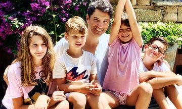 Διάσημα Ελληνόπουλα που τρέλαναν το Instagram την ημέρα του Πατέρα