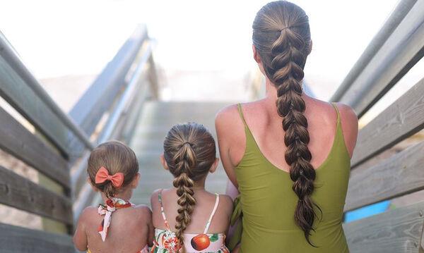 Εκπληκτικά καλοκαιρινά χτενίσματα για μαμάδες που θέλουν να ξεχωρίζουν