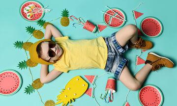 9 διασκεδαστικές καλοκαιρινές συνταγές για παιδιά