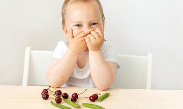 Πέντε τροφές πλούσιες σε φυτικές ίνες για μωρά