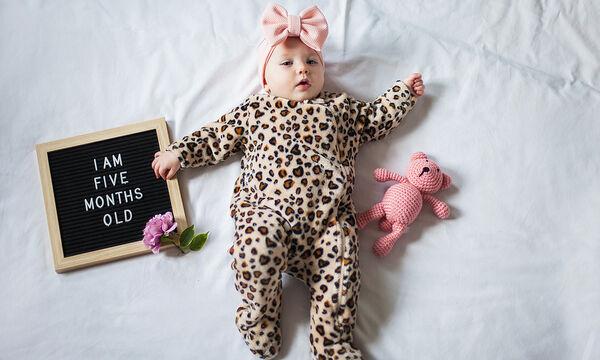 5 μηνών μωρό - Ανάπτυξη, ορόσημα & κατορθώματα