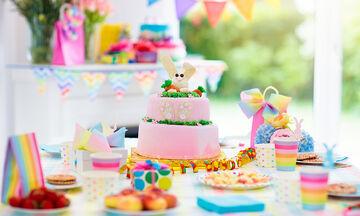 Παιδικό πάρτι γενεθλίων στο σπίτι - Φτιάξτε μόνοι σας τη διακόσμηση