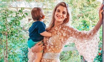 Τζένη Θεωνά: Δείτε τι έκανε ο γιος της στην παιδική χαρά και ήταν ψύχραιμη