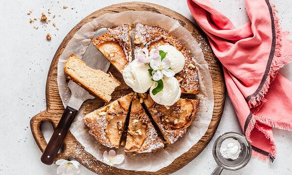 Κέικ μήλου με κανέλα - Yummy in my tummy