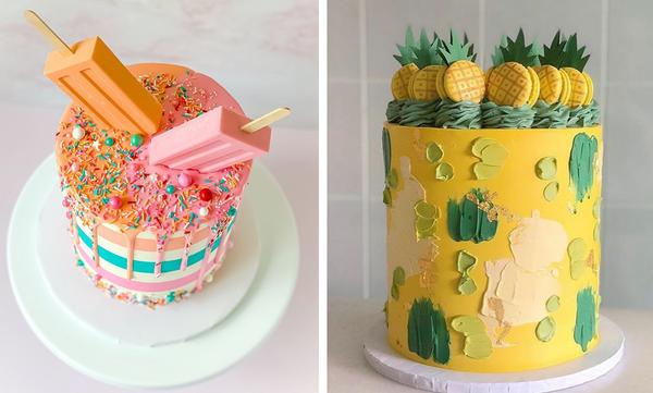 Παιδικό πάρτι γενεθλίων: 5+1 τούρτες εμπνευσμένες από το καλοκαίρι