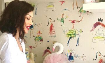 Σίσσυ Φειδά: Δείτε τι έκανε στο παιδικό δωμάτιο της κόρης της (pics)