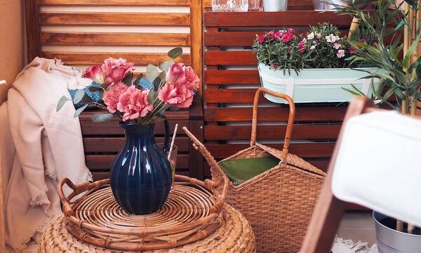10 ιδέες για να κάνεις το μπαλκόνι τον πιο ατμοσφαιρικό χώρο του σπιτιού