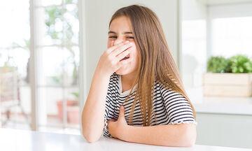 Άσχημη οσμή του ιδρώτα στα παιδιά: Αίτια & τρόποι αντιμετώπισης