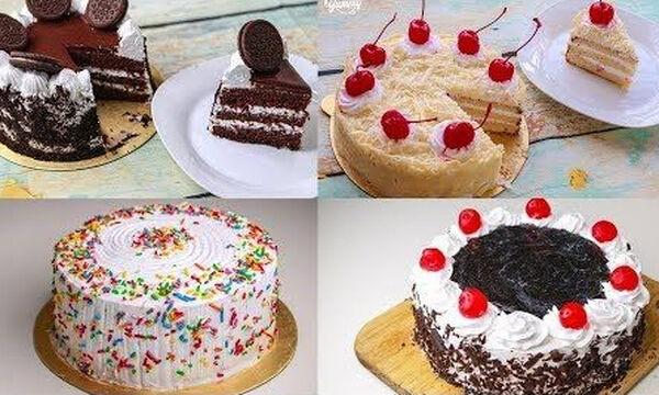 Τέσσερις εύκολες τούρτες γενεθλίων που μπορείτε να φτιάξετε μόνοι σας
