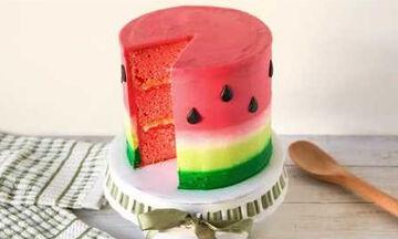 Παιδικό πάρτι γενεθλίων: Δείτε πώς θα φτιάξετε απίθανη τούρτα καρπούζι