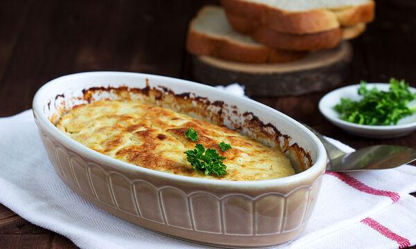 Σουφλέ με ψωμί του τοστ - Φτιάξτε το σήμερα κιόλας