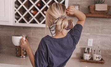 Στιλ για μαμάδες: Πώς να φορέσετε το μαντήλι στα μαλλιά (pics+vid)