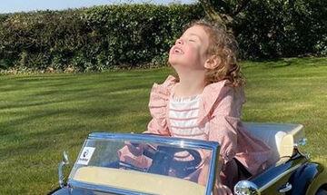 Η κόρη της γνωστής ηθοποιού έγινε 4 ετών - Δείτε την τούρτα γενεθλίων