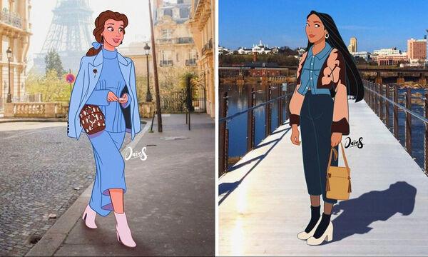 Αγαπημένοι χαρακτήρες Disney σε ρόλο μοντέλου (pics)