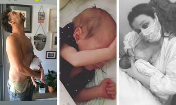 Χρανιώτης-Αβασκαντήρα: Ένα μήνα γονείς - Δείτε την τούρτα που το γιόρτασαν
