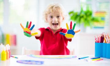 Απίθανα tips που θα κάνουν το παιδί σας να αγαπήσει τη ζωγραφική