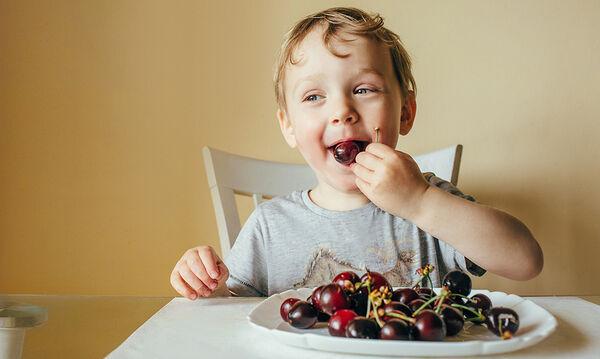 Κεράσια στη διατροφή των παιδιών: Τα πέντε οφέλη για την υγεία