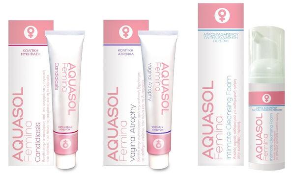 Το νέο site της γυναικολογικής σειράς προϊόντων AQUASOL FEMINA είναι στον «αέρα»!